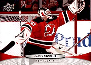 2011-12 Upper Deck #87 Martin Brodeur NEW JERSEY DEVILS NHL (Box70)