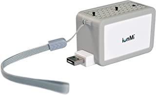 IonPacific ionMi, Wearable Negative Ion Generator with Highest Output - Up to 20 Million Negative Ions/Sec, USB Rechargeable, Eliminates: Pollutants, Allergens, Mold, Germs
