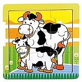 Bino & Mertens- Puzzle vaquillas (Mertens GmbH 88018)