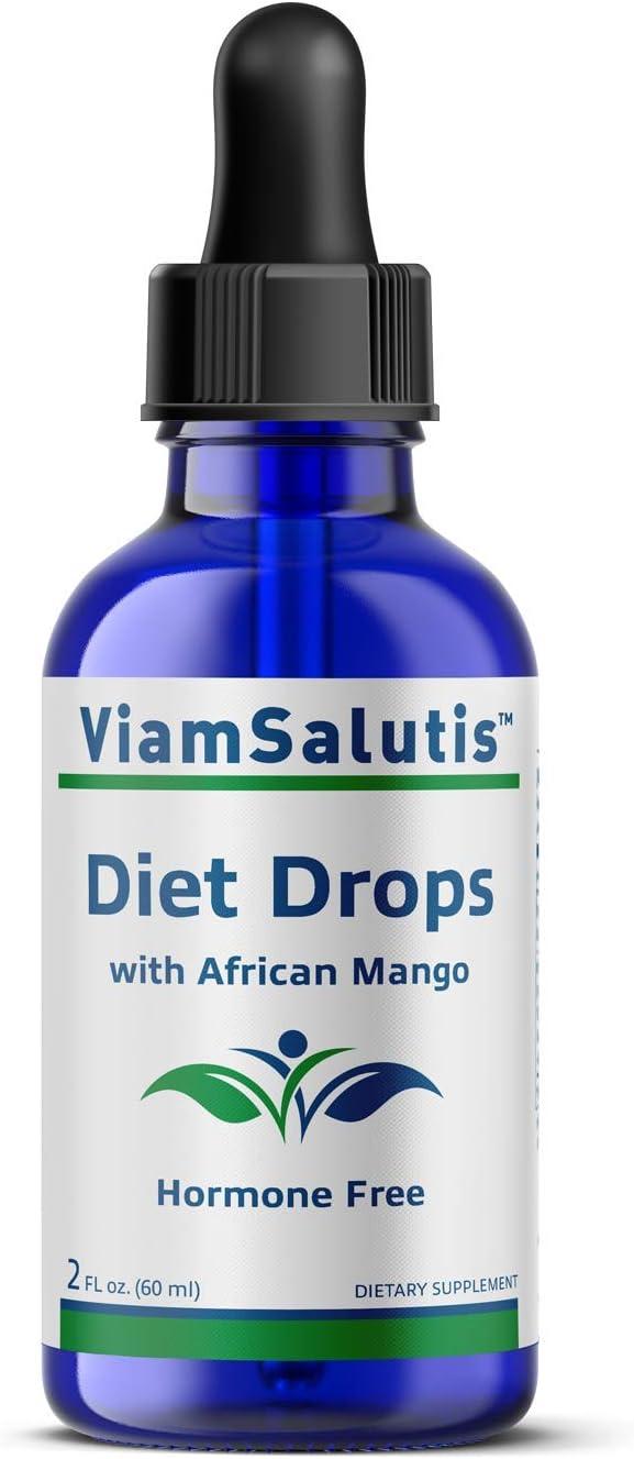 ViamSalutis Diet New color Drops with Deluxe - African 2oz Mango