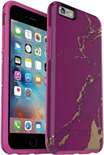 OtterBox Symmetry Series Slim Case for iPhone 6s Plus & iPhone 6 Plus - Non-Retail Packaging - Purple Marble