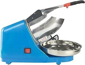 OUKANING Trituradora y picadora de Hielo eléctrico, Ice Crusher Máquina Cubitos Hielo Azul