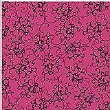 Loralie Designs Elegant Scroll Pink 45cmx54cm:ロラライハリス、
