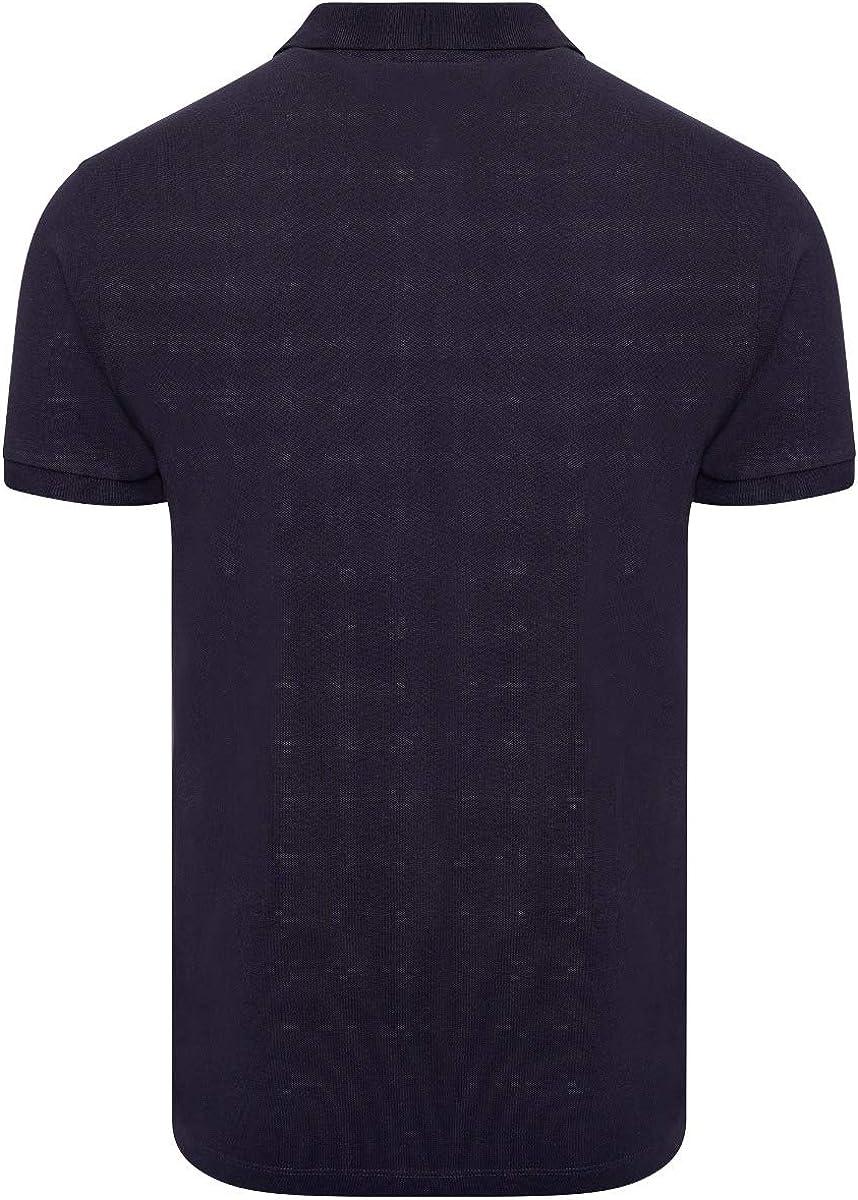 M17 Men/'s Classic Plain Polo Shirt Short Sleeve Cotton Tee Top Sports Casual Work
