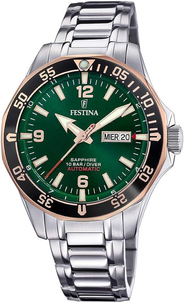 Festina orologio automatico da uomo  in acciaio inossidabile F20478/4