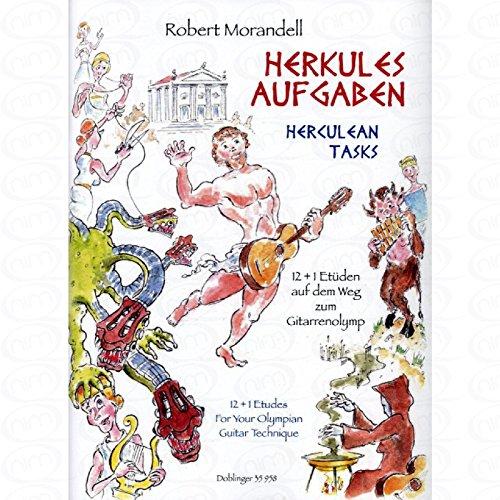 Herkulesaufgaben - arrangiert für Gitarre - mit Tabulator [Noten/Sheetmusic] Komponist : MORANDELL ROBERT
