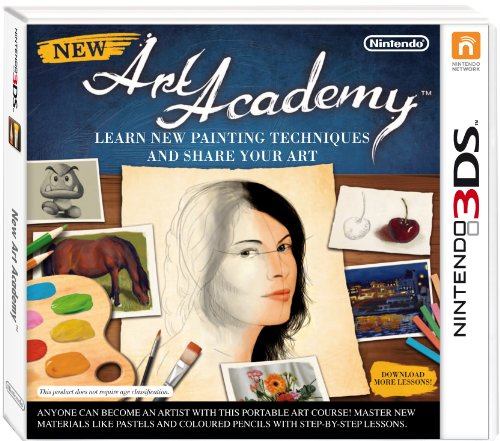 New Art Academy: Learn new painting techniques and share your art [Pegi]