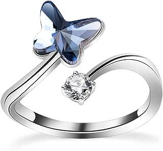 swarovski bow tie ring