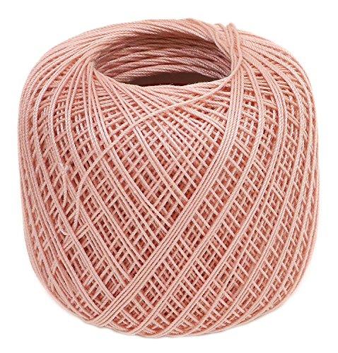 オリムパス製絲 タティングレース糸 細 レース糸 Col.T107 ピンク系 約40m