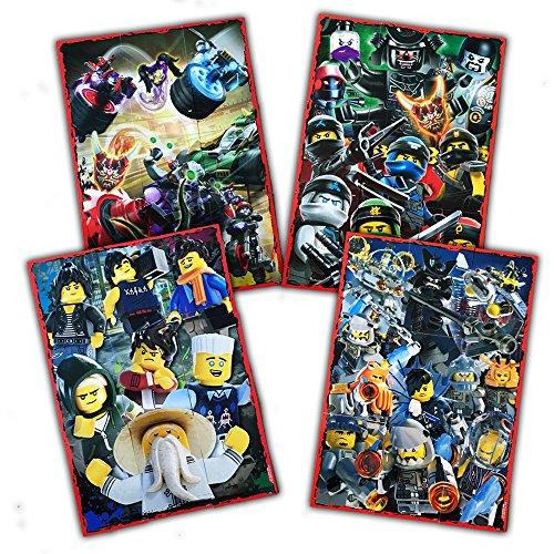 Blue Ocean - LEGO NINJAGO Serie 3 - ein komplettes Puzzle-Set
