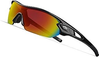 TOREGE Polarized Sports Sunglasses with 5(3)...