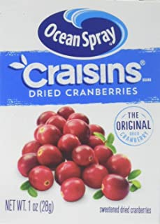 Craisins Original Sweetened Dried Cranberries, 1 Ounce * 6 Pack