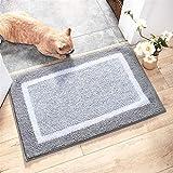 Jun7L Home Fußmatte Reinigung Fuss-Auflage-Anti-Rutsch-Pad Maschine waschbar waschbar Fußmatte...