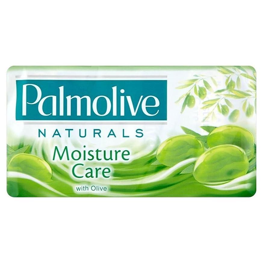 サスペンションエネルギー靴下Palmolive Naturals Moisture Care Bar Soap with Olive (3x90g) by Palmolive
