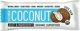 Nutrawbar, Organic Superfood, Raw Fruit and Nut Bar, Coconut, 1.4 Oz, 12 Count