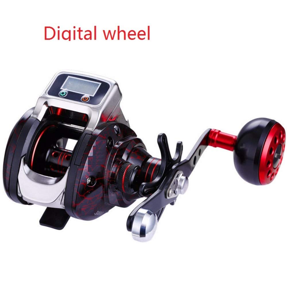 Los aparejos de pesca, barra, pantalla Digital Drip rueda, línea ...