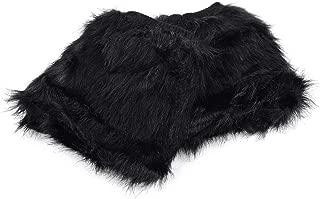 Best black fur leg warmers Reviews