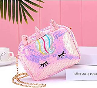 Tera13 Unicorn Sling Stylish Bags for Girls - Multicolor