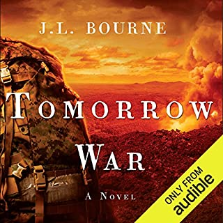 Tomorrow War audiobook cover art
