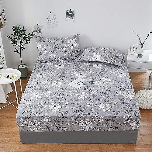 HllhPC Set 1 bed van 100% polyester met vierkante hoeken en elastieken