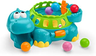 hippo toy with balls