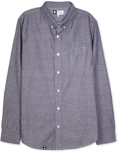 LRG Zuma manche longue Woven Shirt Bleu