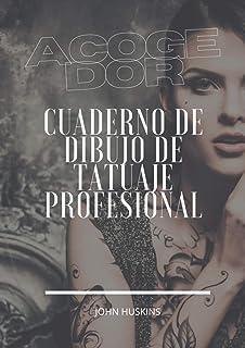 Acogedor: Grande 8.27x11.69 inch Cuaderno de bocetos de diseño profesional para tatuadores y estudios de arte corporal