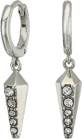 1e0b98fc0 Vince Camuto. Cubic Zirconia Rivoli Stud Earrings. $28.00. Huggie Earrings