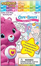 Care Bears POP OUTZ! Take N Play Color and Play Activity Kit with 3 Washable Markers, 25 Stickers, 4 Coloring Boards and 24 Page Fun Activity Pad