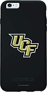 Fan Brander NCAA Black Phone case with School Logo, Compatible with Apple iPhone 6 and iPhone 6s with OtterBox Symmetry Series