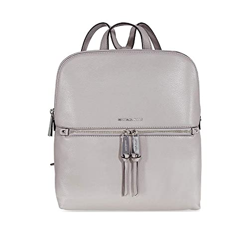c5b0d70d249a MICHAEL Michael Kors Rhea Zip Medium Slim Backpack (Pearl Grey)