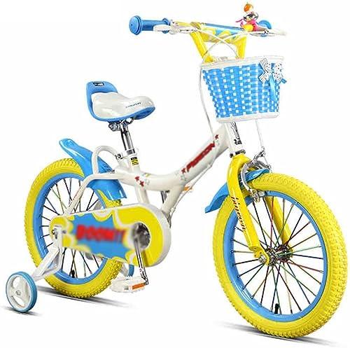 grandes ahorros Bicicletas YANFEI Niños 3-5-6-8 años de edad hombres y y y mujeres Bebé 16 pulgadas con ruedas auxiliares Niños Regalo para Niños  El ultimo 2018