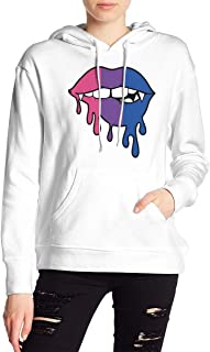 VJJ AIDEAR Bisexual Women's Sweater Printed Hoodied Long Sleeve Coat