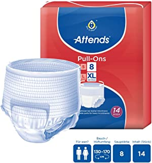 Attends Pull Ons 8, X-Large, Pack of 14