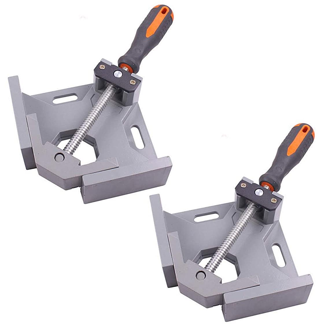エスネット コーナークランプ 90度 直角 定規 木工 溶接 固定 工具 DIY 1個 2個 4個 セット SN-176-N3 (2個セット) 接着 スケール ペンチ