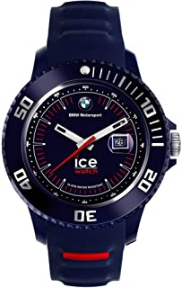 Ice Watch BMW Motorsport Men's Dark Blue Dial Silicone Band Watch - BM.SI.DBE.B.S.13