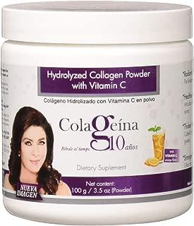 Colageina 10 Hydrolyzed Collagen Powder, 3.52 Ounce