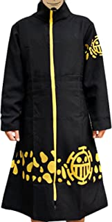 Pulla-A Anime ONE Piece Cosplay 2nd Trafalgar Law Cloak Jacket Costume