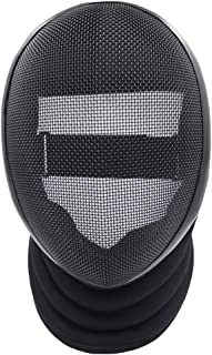 ThreeWOT Fencing Mask, Fencing Coaches Mask,350N CE Certification Fencing Protective Gear(Contain Storage Bag)