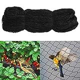 Yahee Vogelschutznetz Laubnetz Teichnetz Netz zum Schutz vor Vögeln Maschenweite: 60mm (15x7.5m)