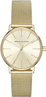 Armani Exchange Women's AX5536 Analog Quartz Gold Watch