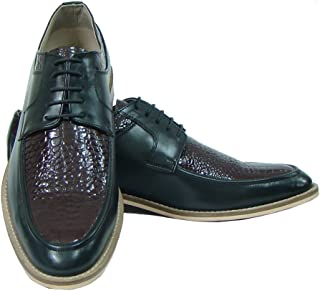 ASM Handmade Brown & Black Leather Shoes with Handmade Neolite Sole for Men.