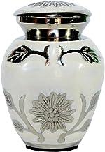 Esplanade Cremation urn Memorial Container Jar Pot to Keepsake Human Ashes, Remains | Brass Urns | Metal Urns | Burial Urn...