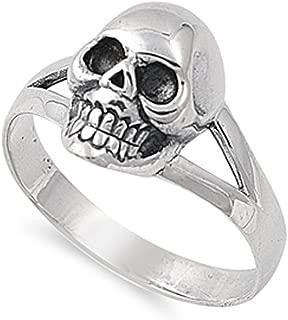 4 skull ring