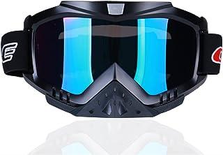 madbike Motocicleta motocross gafas Deportes al aire libre Dirt Bike ATV MX Off-Road Goggles (rainbow)