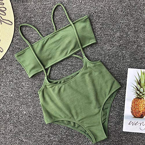 CLZCBikini vrouwen Badpak Badpak bandeau Bikinis strapless Zwemkleding vrouwelijke Beachwear