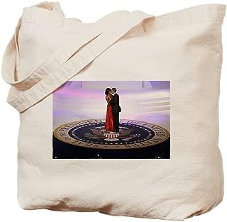 CafePress Michelle Barack Obama Natural Canvas Tote Bag, Reusable Shopping Bag