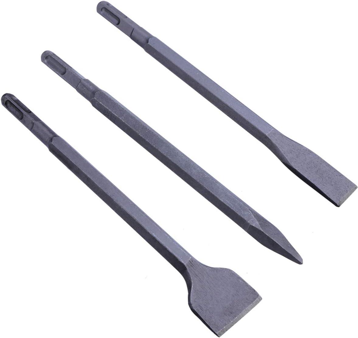 ULTECHNOVO Purchase 3pcs SDS-Plus Rotary Hammer Chisel Electric Hamme Bit shipfree