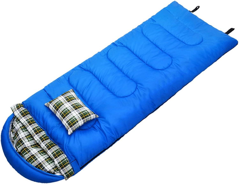GYL SHUIDAI SHUIDAI SHUIDAI LWFB Umschlag Schlafsack Mit Kissen Outdoor Great Für 4 Saison Reisen Camping Wandern Rechteckigen Schlafsack (215  70 cm) B07CJ5ZFRV  Qualität und Verbraucher an erster Stelle 811819