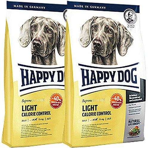 Nourriture pour chiens Happy Dog Supreme Fit & Well Light Calorie Control - 2 x 12,5 kg